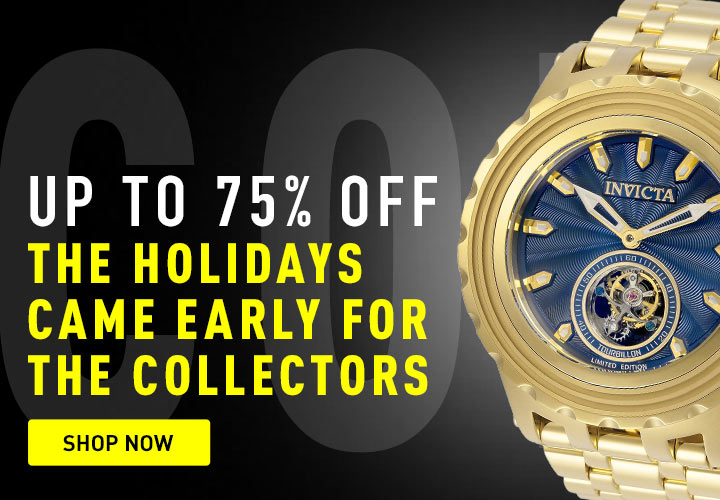 Up to 75% OFF The holidays came early! at ShopHQ - 670-078 Invicta Reserve Men's 52mm Specialty Subaqua Limited Edition Tourbillon Mechanical Watch