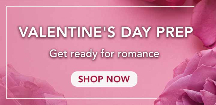 VALENTINE'S DAY PREP  Get ready for romance at Evine