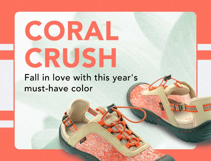 CORAL CRUSH  Fall in love with this year's must-have color at Evine