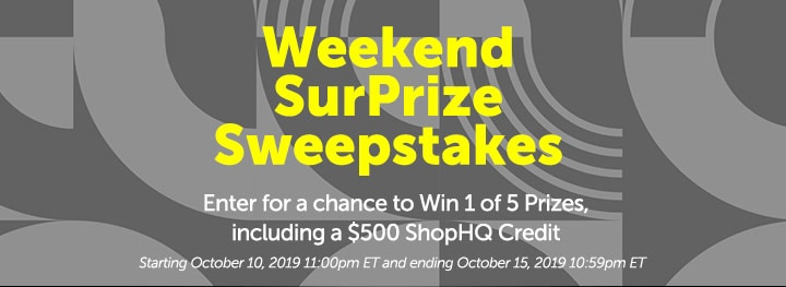 Weekend SurPrize Sweepstakes at ShopHQ