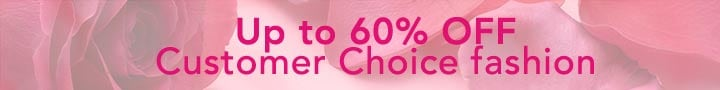 Up to 60% OFF Customer Choice fashion at Evine