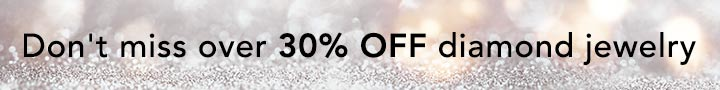 Don't miss over 30% OFF diamond jewelry at Evine