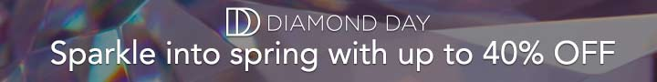 DIAMOND DAY - Sparkle into spring with up to 40% OFF at Evine