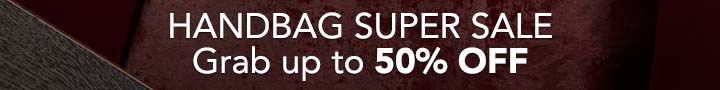 HANDBAG SUPER SALE - Grab up to 50% OFF at Evine