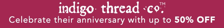 INDIGO THREAD CO.™ - Celebrate their anniversary with up to 50% OFF at Evine