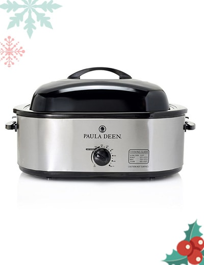 Paula Deen Holiday Kitchen For Memorable Holiday Feasts at ShopHQ | 479-183 Paula Deen 1450W 18qt Electric Roaster