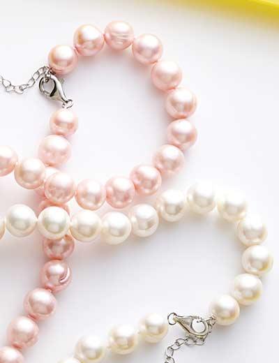GEMS EN VOGUE ELEGANT PEARLS & MORE at Evine - 166-939 Gems en Vogue 20.5 10-13mm Freshwater Cultured Pearl Necklace