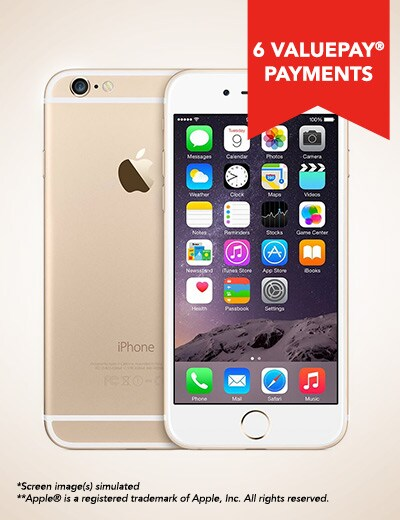UNLOCKED PHONES TALK ON YOUR TERMS at Evine - 460-426 Apple® iPhone 6 4G LTE 16GB Unlocked Smartphone - Refurbished