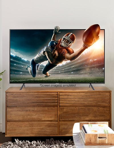 Samsung at ShopHQ | 475-304 Samsung Choice of Size 7100 Series 4K UHD Smart LED TV w 2-Year Warranty