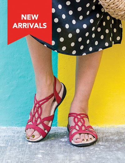 SUMMER SHOES COMFY CAN BE CUTE at Evine - 741-249 J-Sport by Jambu April Encore Memory Foam Strappy Sandals