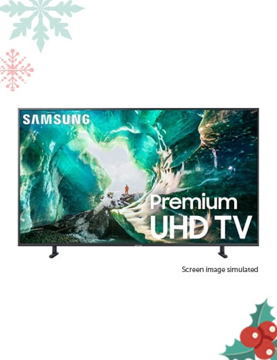 Samsung Electronics - 485-983 Samsung RU8000 4K Ultra HD Smart LED TV w HDR & 2-Year Warranty