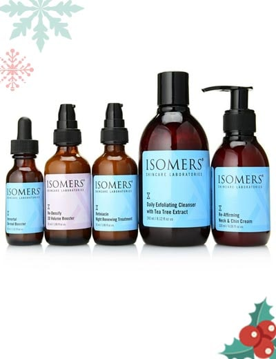 Sets & Kits Featuring ISOMERS - 313-524 ISOMERS Skincare 5-Piece Must Haves Collection for Face, Chin & Neck