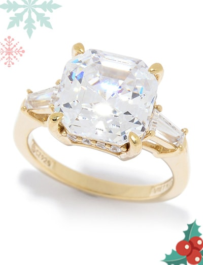 Victoria Wieck Timeless Style and Versatility at ShopHQ   187-095 Victoria Wieck for Brillante® 5.70 DEW Simulated Diamond Ring