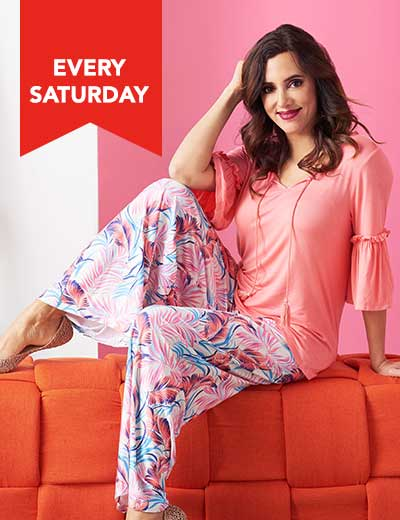 EVERY SATURDAY WAKE UP IN STYLE® LOOKS YOU LOVED at Evine - 740-458