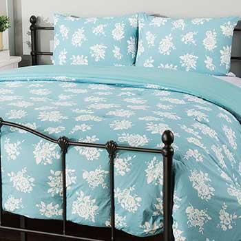 Warehouse Wednesday - Sample Sale Steals at Evine - 479-021 North Shore Living™ English Garden 100% Cotton All Season 3-Piece Comforter Set