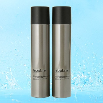 Luxury Hair Care at Evine - 314-580 label.m Haircare Hairspray Duo 9 oz Each