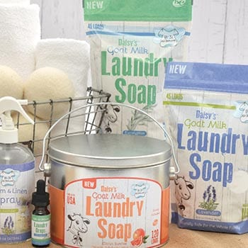 Don't Miss Out Yesterday's Deals at Evine - 481-028 Brooke & Nora at Home Natural Goat Milk Laundry Soap w 3 Bonus Samples