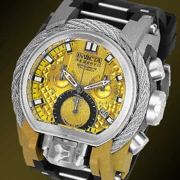 Strapped for Cash? Invicta Strap Watches