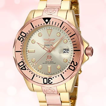UP TO 65% OFF Good Snooze at Evine - 659-130 Invicta 47mm Grand Diver Automatic Two-tone Stainless Steel Bracelet Watch