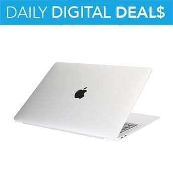 Daily Digital Deals - Up to 70% OFF - 488-992 - Apple MacBook Air 13 1.6GHz Intel 8GB RAM  128GB HDD MacOS Laptop - Refurbished