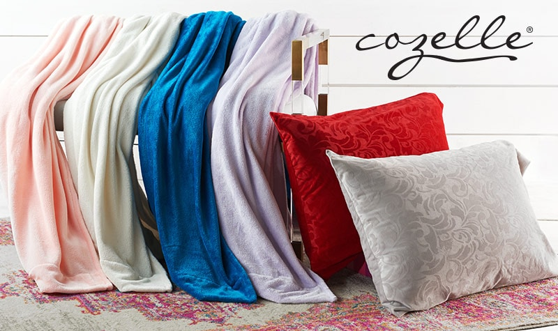 Today's Top Value at Evine - 477-933 Cozelle® Micromink 4-Piece Sheet Set w 2 Bonus Embossed Pillowcases