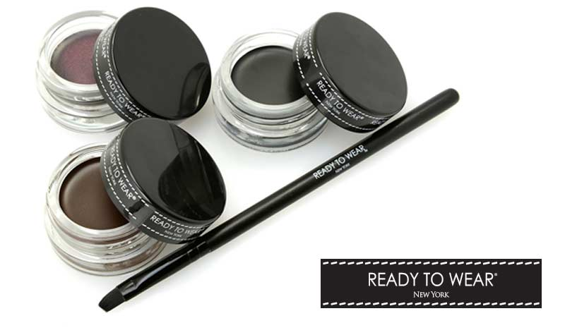 Today's Top Value Web Only -314-937 Eyeluxe Gel Eyeliner Trio w Angled Liner Brush