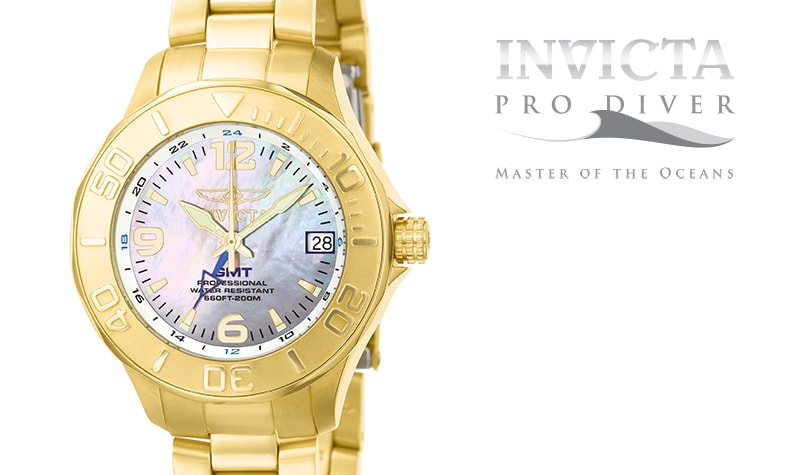 Today's Top Value at Evine - 670-071 35mm Mother-of-Pearl Watch