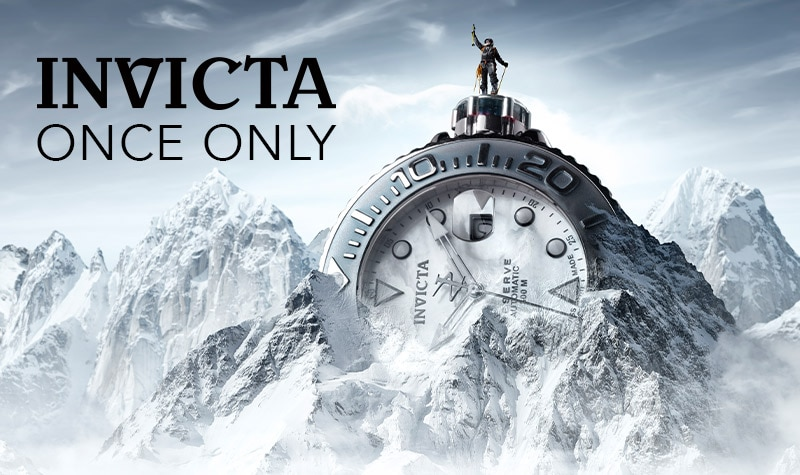 Once Only Best Deals - Invicta