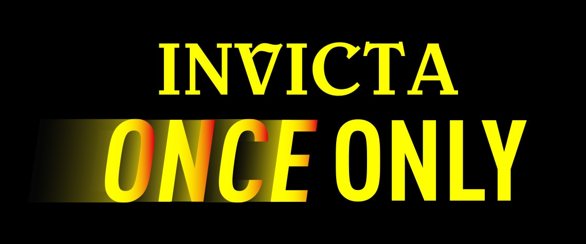 Once Only Invicta at Evine
