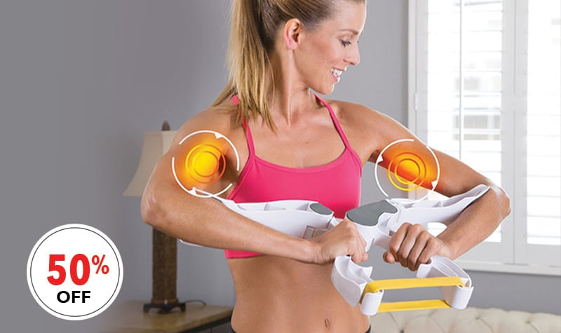 24 Hour Bests Deals at Evine - 002-104 Wonder Arms Set of 2 Workout Systems w 3 Resistance Levels & Nutrition Guide