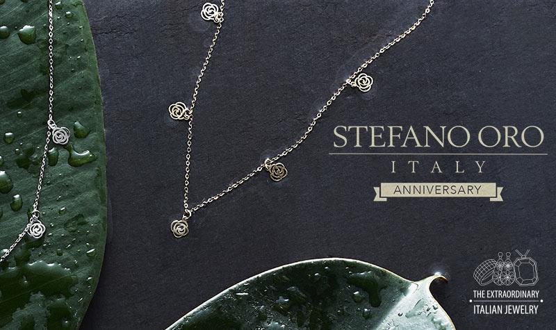 Stefano Oro Bella Rosa 14K Gold 16 Necklace, 1.05 grams at ShopHQ - 170-927 Stefano Oro Bella Rosa 14K Gold 16 Necklace, 1.05 grams