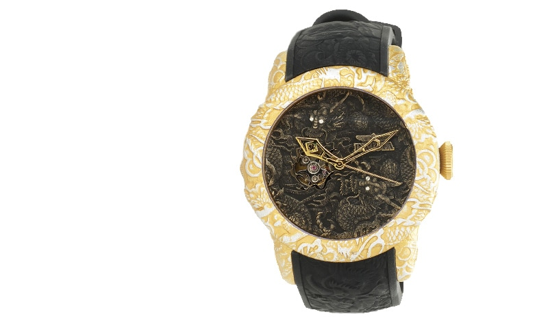 New Items Added Daily at Lowest Prices Ever at ShopHQ | 657-858Invicta 50mm Empire Dragon Automatic Strap Watch w 3-Slot Dive Case