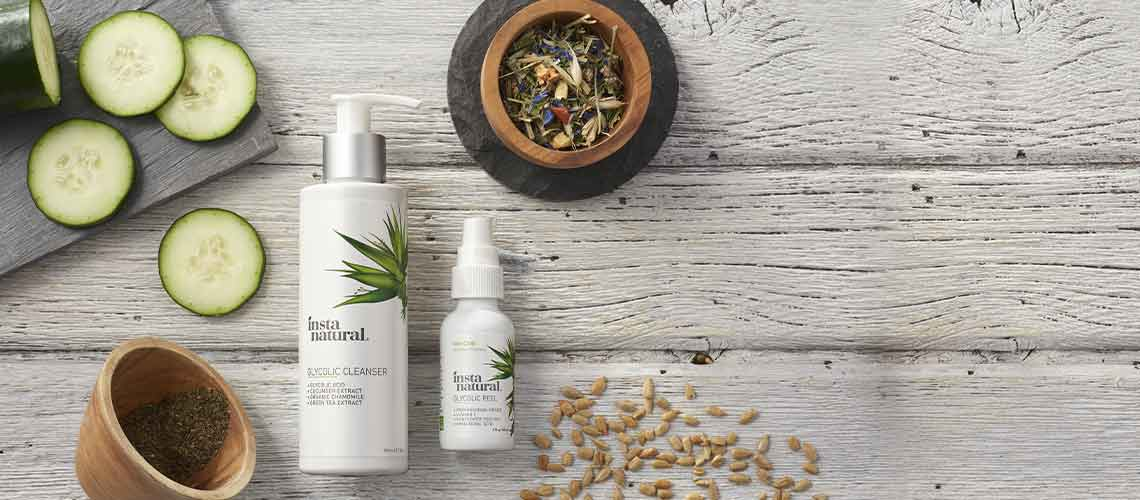 Naturally Danny Seo - 315-687 InstaNatural Glycolic Cleanser & Peel Duo