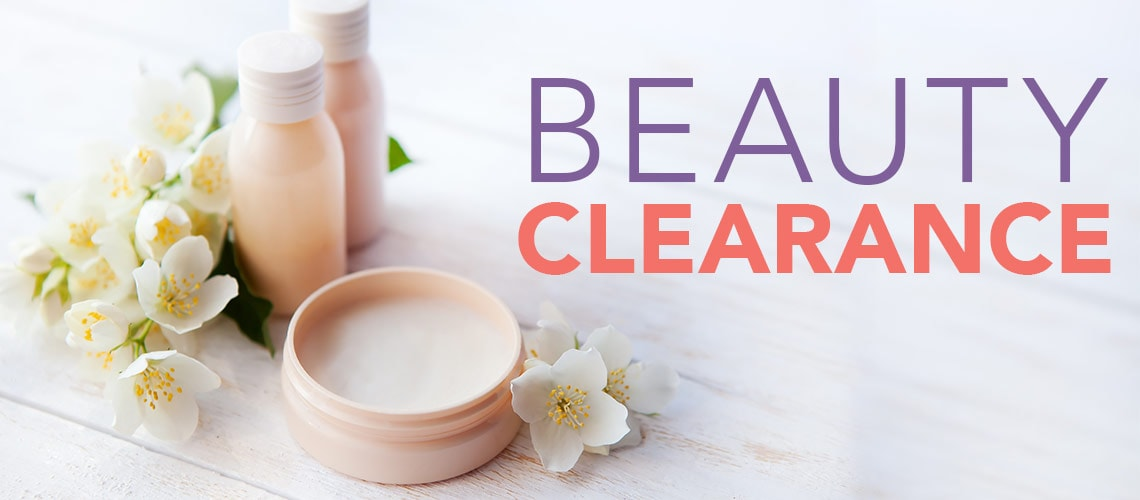 Beauty Clearance at Evine