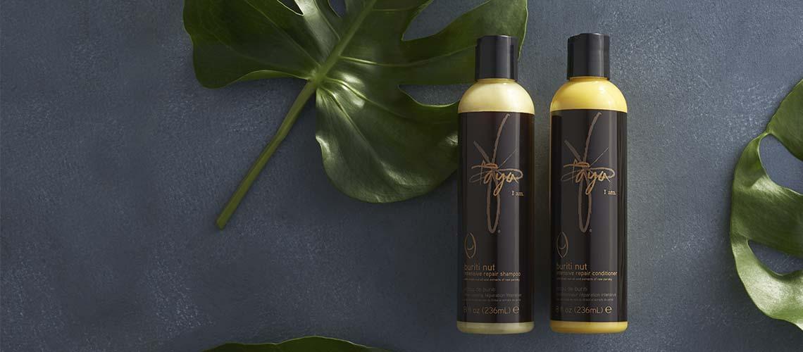 TAYA BEAUTY - 315-077 Taya Buriti Nut Intensive Repair Shampoo & Conditioner Duo 8 oz Each