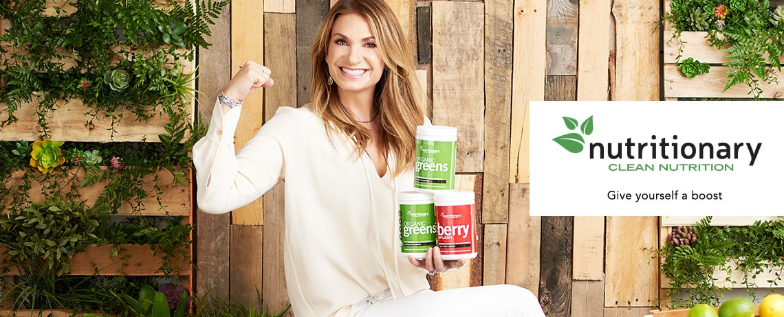 NUTRITIONARY  Give yourself a boost at ShopHQ