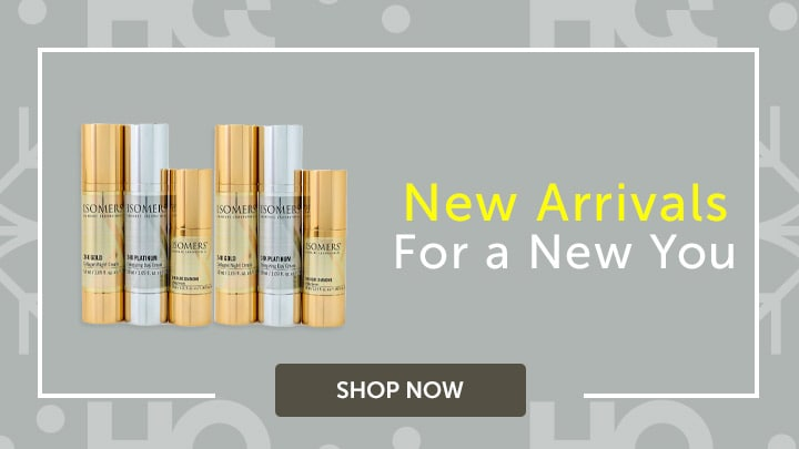 New Arrivals For a New You at ShopHQ - 315-806 ISOMERS Skincare 6-Piece 24K Holiday Serum & Cream Set