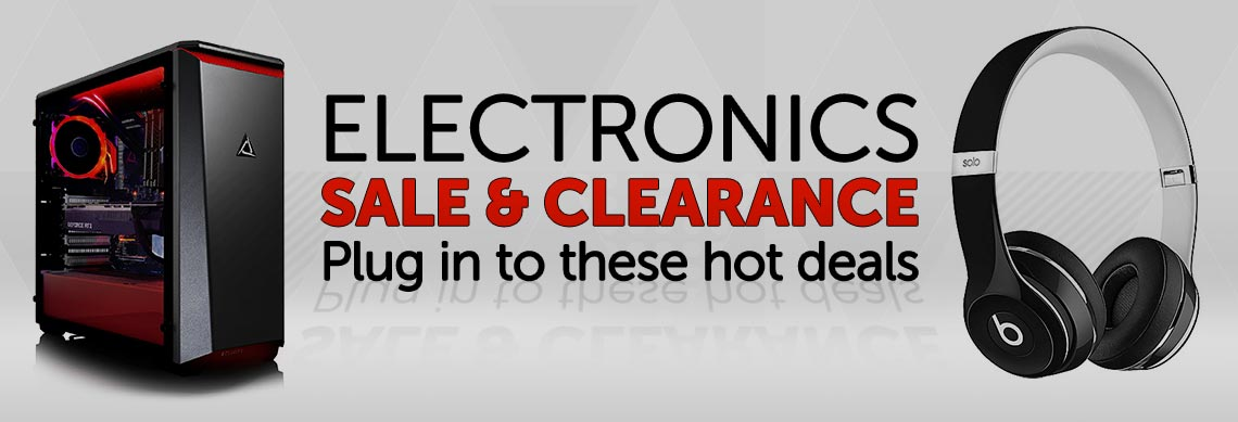 ELECTRONICS SALE & CLEARANCE Plug in to these hot deals at ShopHQ