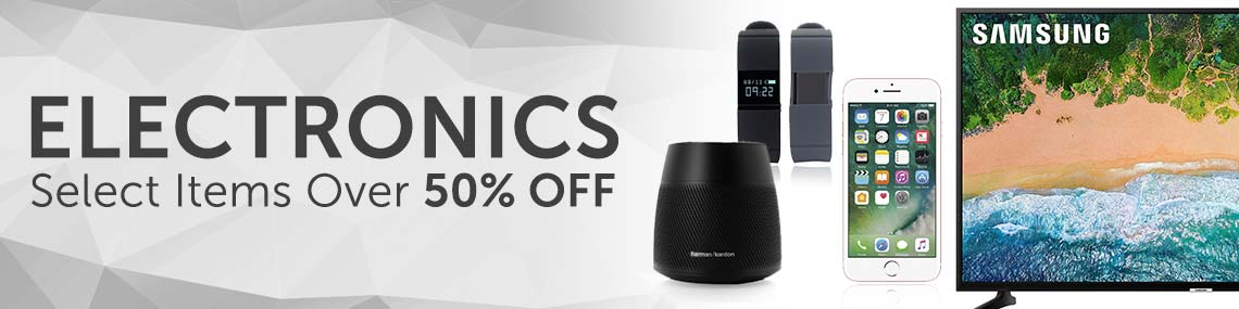 ELECTRONICS Select Items Over 50% OFF at ShopHQ