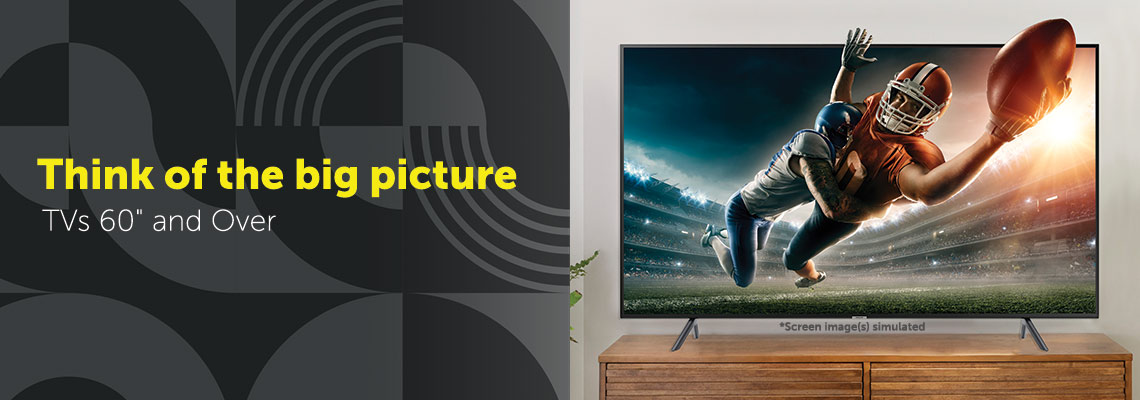 Think of the Big Picture TVs 60 and Over at ShopHQ