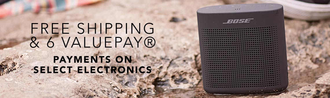 FREE SHIPPING & 6 VALUEPAY® PAYMENTS ON SELECT ELECTRONICS at Evine  - 472-388 Bose SoundLink Color II Portable Bluetooth Speaker