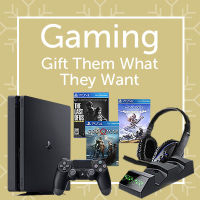 Gaming Gift Them What They Want at ShopHQ - 487-802 PlayStation 4 Slim 1TB Console w The Last of Us Remastered & Accessories