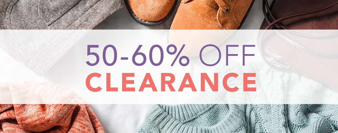 50 - 60% OFF CLEARANCE at ShopHQ