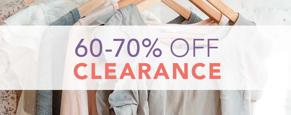 60 - 70% OFF CLEARANCE at ShopHQ