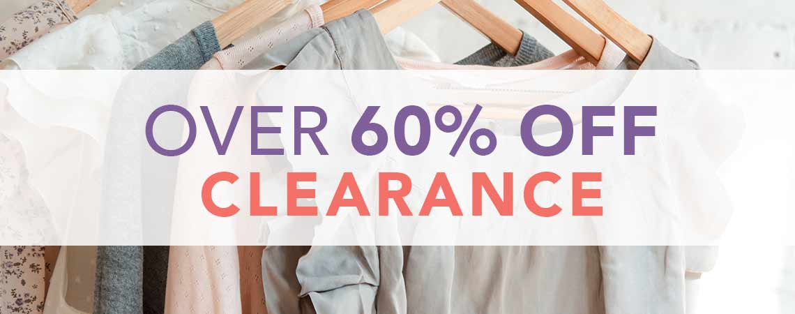 Over 60% off Clearance at Evine