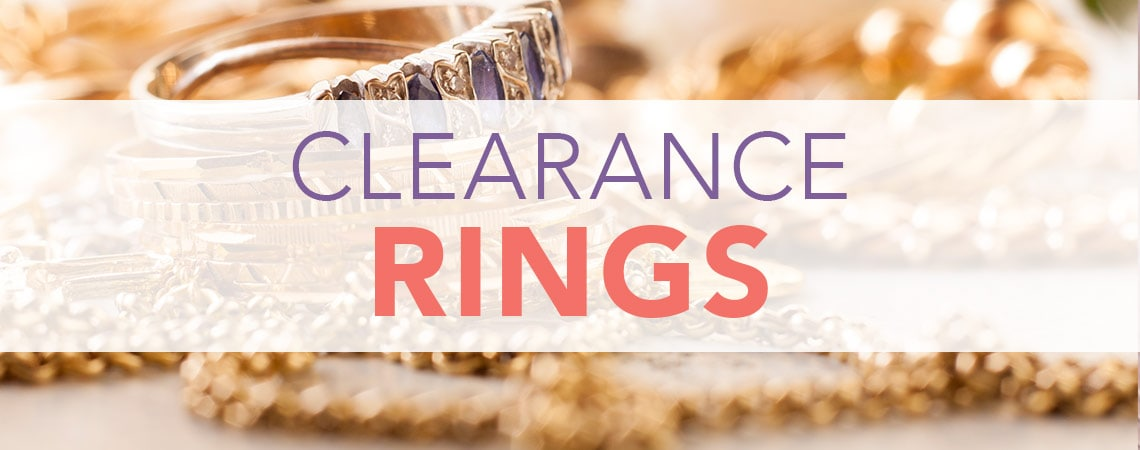 Clearance Rings at Evine