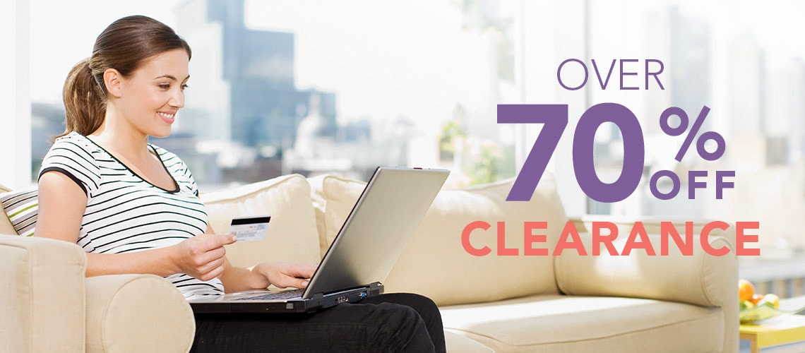 Over 70% off Clearance at Evine