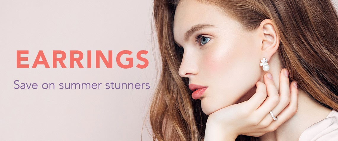 EARRINGS  Save on summer stunners at Evine