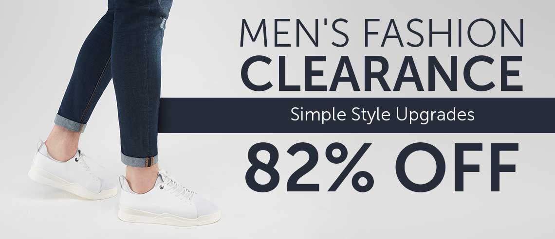 MEN'S FASHION CLEARANCE Simply Style Upgrades up to 82% OFF at ShopHQ