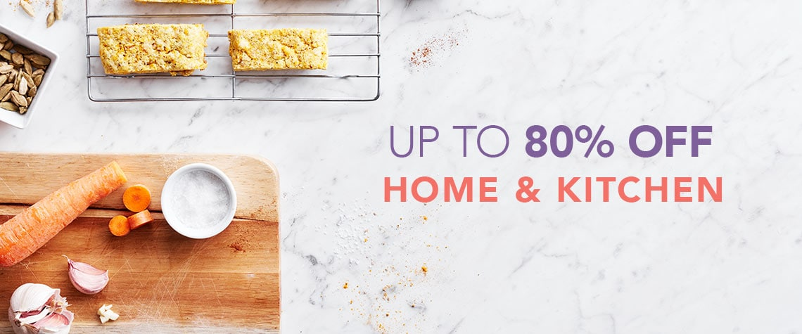 UP TO 80% OFF HOME & KITCHEN at Evine